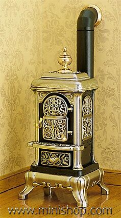 wow, Victorian Parlor Stove, Metal...transforming mine into outdoor light feature