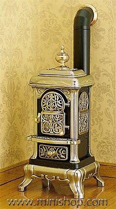 delete-----Victorian Parlor Stove, Metal