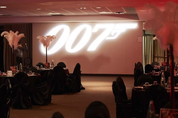 Shaken; Not Stirred: 007 Themed charity event for the Make a Wish Foundation! Event Review from Her Campus.