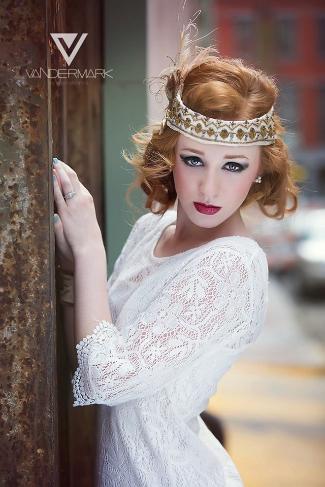 Great Gatsby hair and makeup by Nola based makeup artist ...