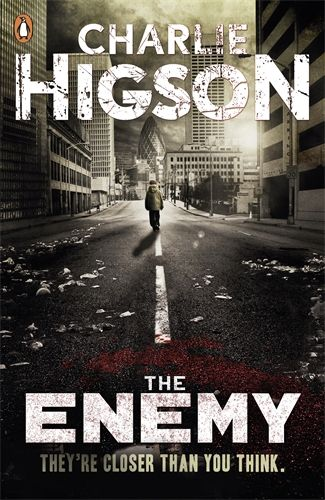 The Enemy by Carlie Higson. When the sickness came, every parent, police officer, politician - every adult fell ill. The lucky ones died. The others are crazed, confused and hungry. Only children under fourteen remain, and they're fighting to survive. Now there are rumours of a safe place to hide. And so a gang of children begin their quest across London, where all through the city the grown-ups lie in wait.But can they make it there - alive?