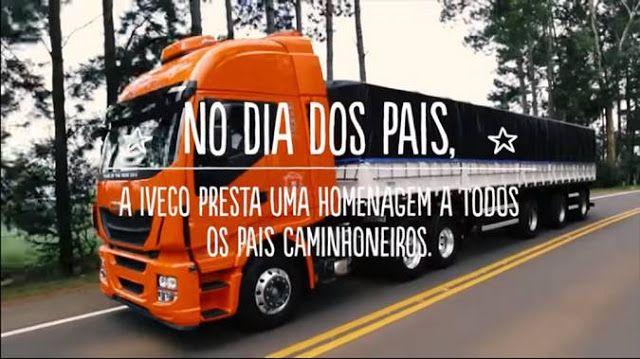 Iveco e a dupla César Menotti e Fabiano fazem juntos homenagem ao Dia dos Pais | Blog Caminhões e Carretas - A parada online do caminhoneiro