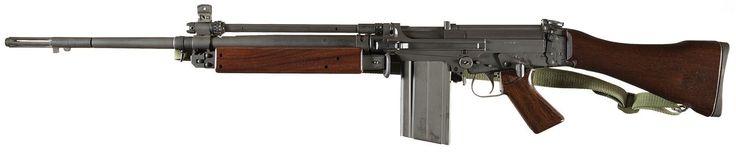 Imbel Model FZ SA Heavy Barreled Semi-Automatic FAL Style Rifle with Bipod