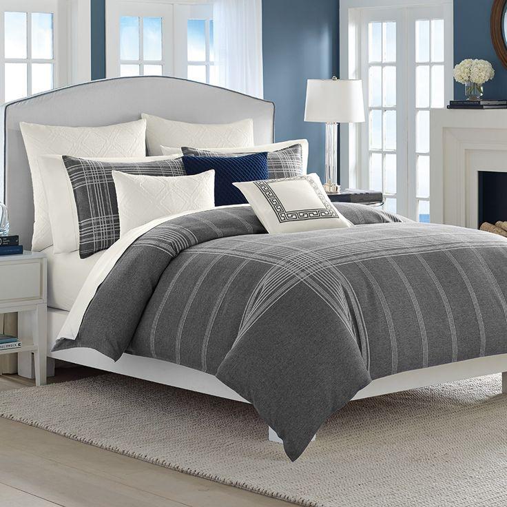 Best Nautica Haverdale Gray Comforter Duvet Sets Bed 400 x 300