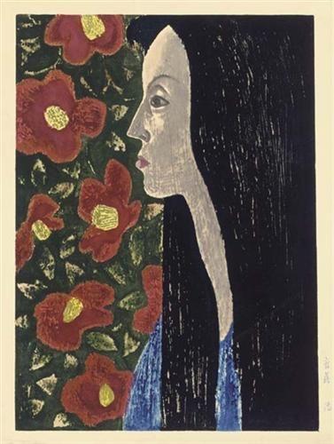 Camellia (Tsubaki) - Kiyoshi Saito