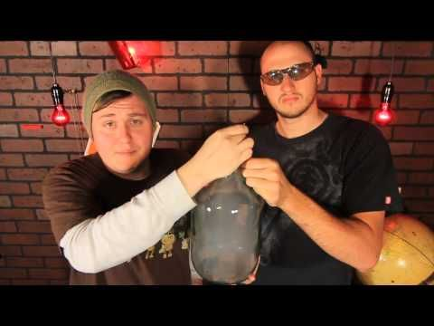 Disappearing Smoke - Science Trick - YouTube.  Looks like you have to move quick, don't want to light yourself on fire!  :)