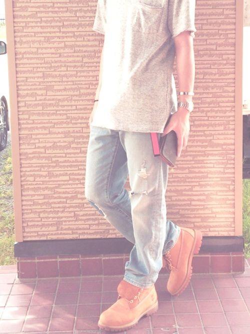 👆今日のコーデ👆 服と靴買いに行った~ 後で、靴の写真貼りますのでよかったら見てください!👍