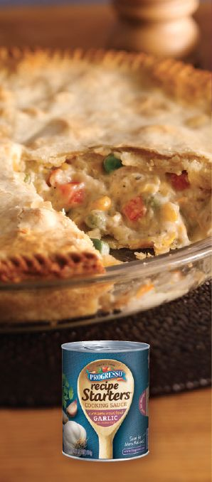 Easy Chicken Pot Pie--I made this and it is sooooo good. Luke loved it, flavor is amazing! VP