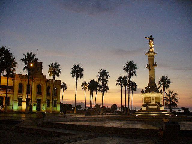 Miguel Grau Square, Callao, Peru