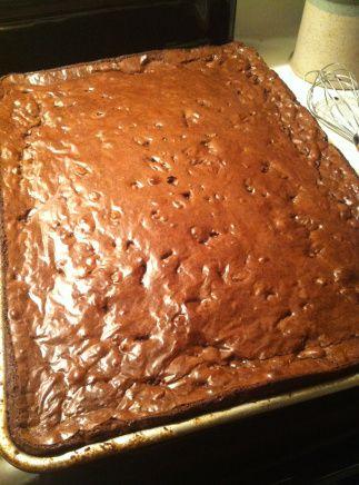 Ina Garten's Outrageous #Brownies recipe