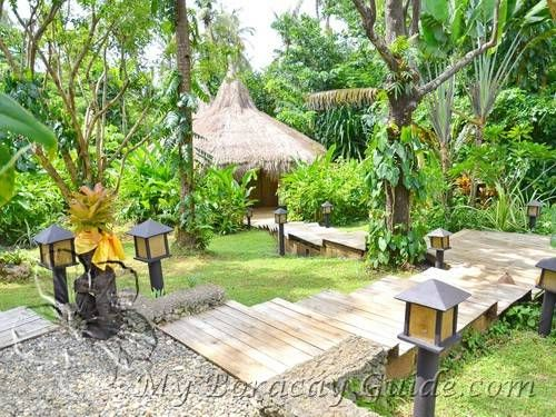 PHILIPPINES - Mandala Spa & Villas, Boracay Island. Daily yoga classes and massages are included in room rates.