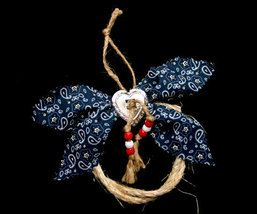 Western Christmas Ornament: Easy to make and cute for a cowboy Christmas tree