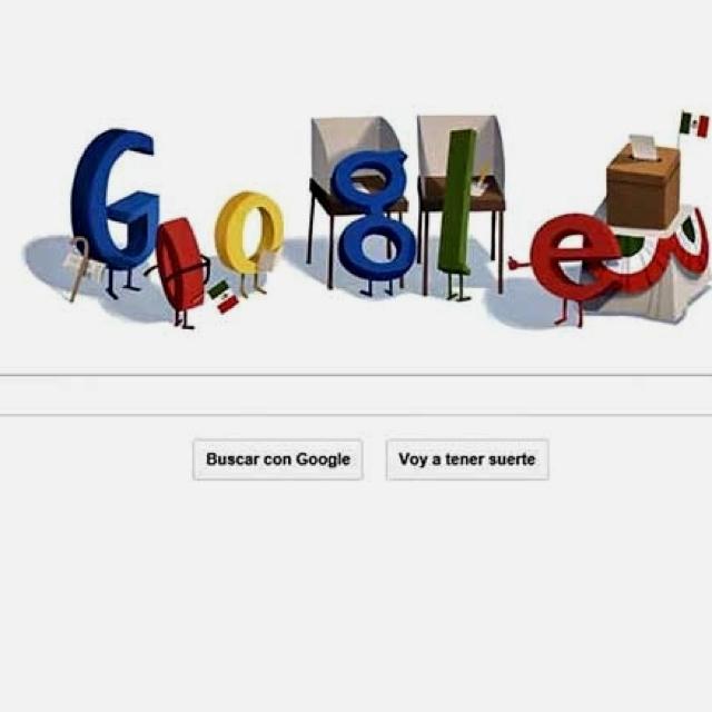 Google doodle Elecciones México 2012