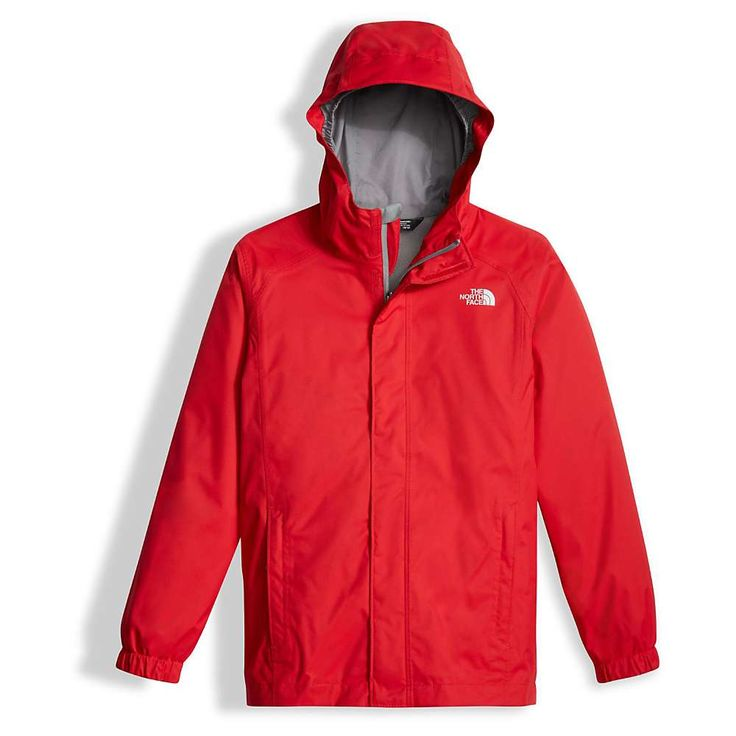 The North Face Boys' Resolve Reflective Jacket - Medium - TNF Red