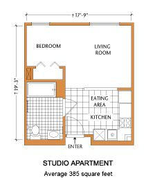 Studio Blueprints | Apartment. Open Floor Plan Apartment Therapy, Open  Floor Plan Studio . Part 55