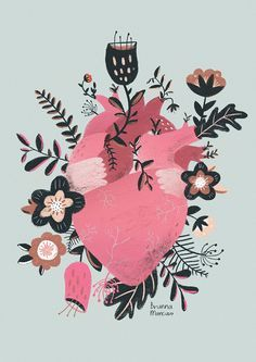 Ilustração da artista brasileira Brunna Mancuso;