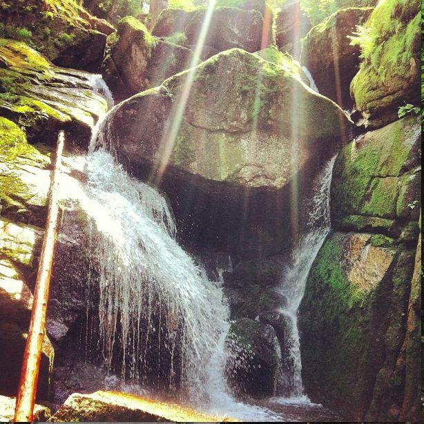 Jizerské vodopády #czech#nature #wildlife #stone #waterfall #zvejka