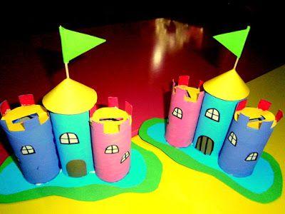 Προσχολική Παρεούλα : Μέσα στο κάστρο μου κρύβω το δικό μου μυστικό ..