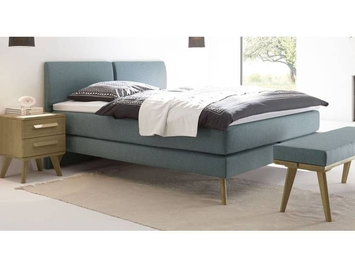 Velours Boxspringbett Im 60er Jahre Stil In Anthrazit 200x200 Cm Via Velor Box Spring Bed I In 2020 Box Spring Bed Ikea Hack Living Room Storage Bench Bedroom