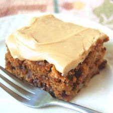 Old-Fashioned Apple Cake with Brown Sugar Frosting : King Arthur Flour