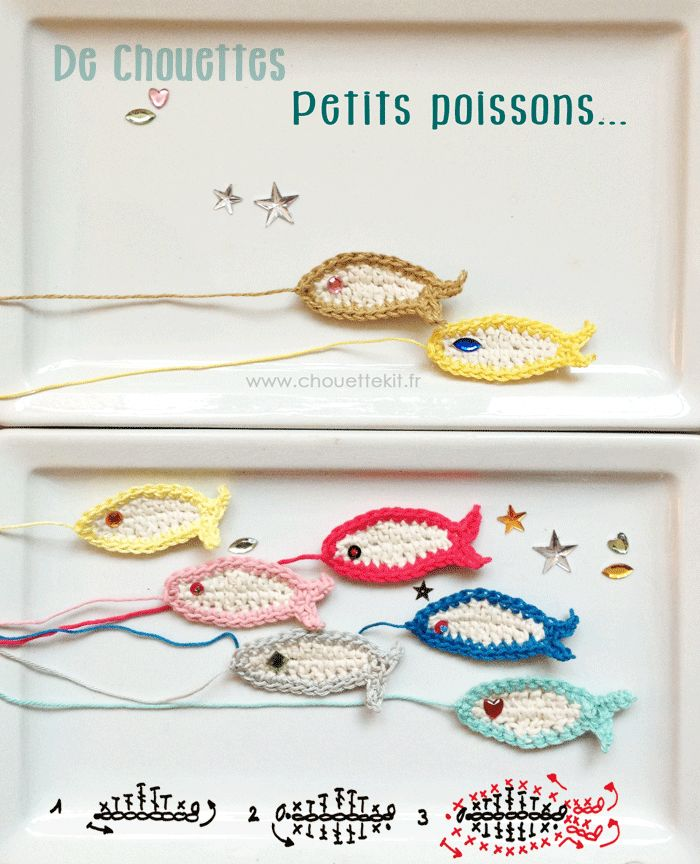 Cute little fish tutorial by chouette kit.