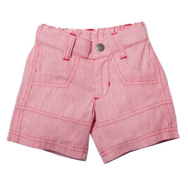 Bebe Alfie stripe woven shorts