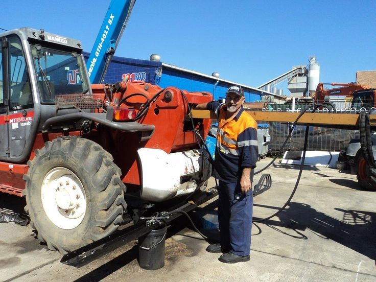 Our service department has been so busy we have put on a new mechanic.  Welcome Ron, to our ever expanding service division.   Ron brings with him 30 years of experience from the Telehandler and Earthmoving Equipment Industries.
