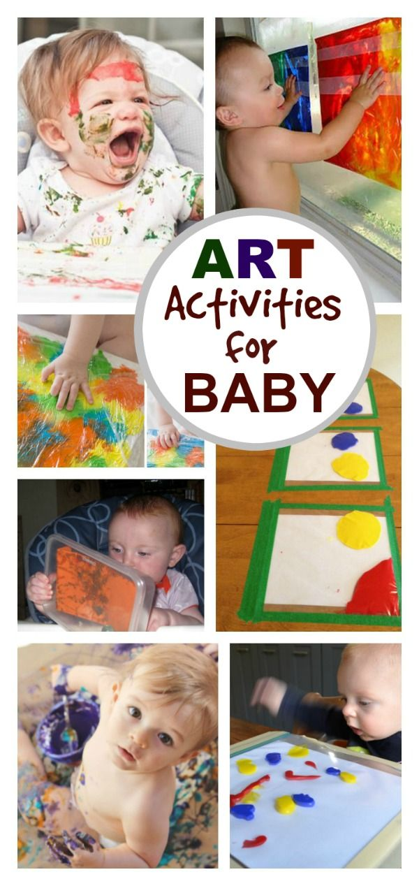 Best 25 baby activities ideas on pinterest baby sensory for Craft paint safe for babies