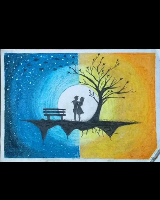New The 10 Best Drawing Ideas Today With Pictures Dream Scenery Oilpastels Oilpastelart Artworks Artl Oil Pastel Drawings Oil Pastel Art Cool Drawings