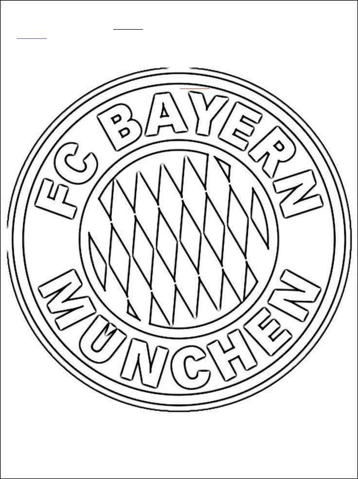 Fussball Ausmalbilder Bayern Munchen Br Bayern Munich Football Coloring Pages Coloring Pages