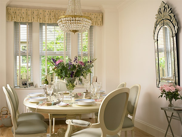 An intimate table setting for tea