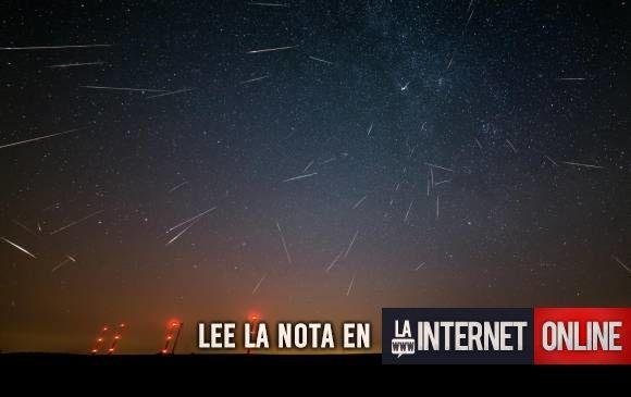 Mañana habrá lluvia de meteoritos por el paso de las Gemínidas