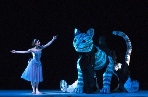 Cat puppet from ROYAL BALLET : THE ADVENTURES OF ALICE IN WONDERLAND