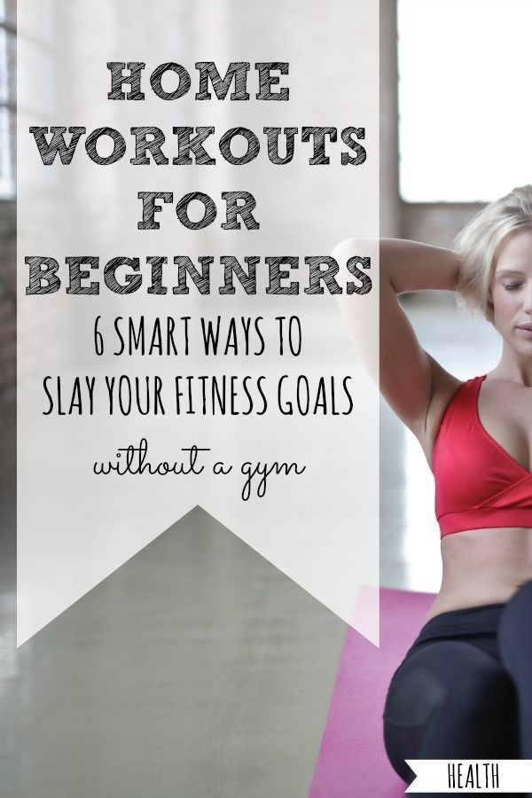 6 Home Workouts For Beginners – At home workout plan