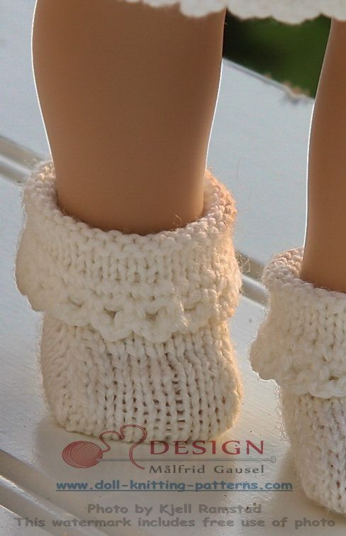 Knitting Pattern Doll Socks : Puppenkleid stricken Puppen Pinterest Knitting ...