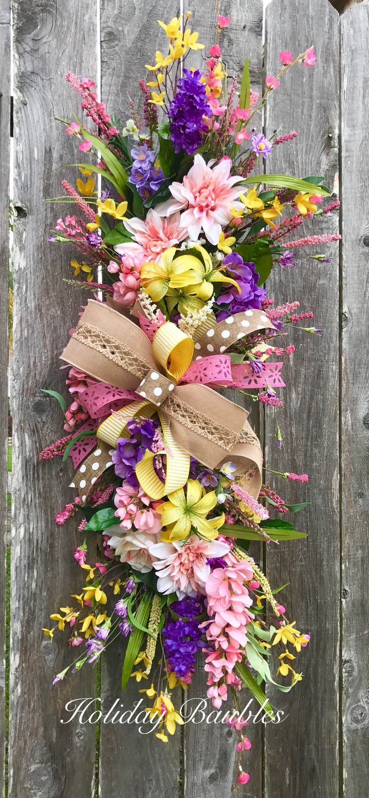 427 best Spring and Summer wreaths images on Pinterest