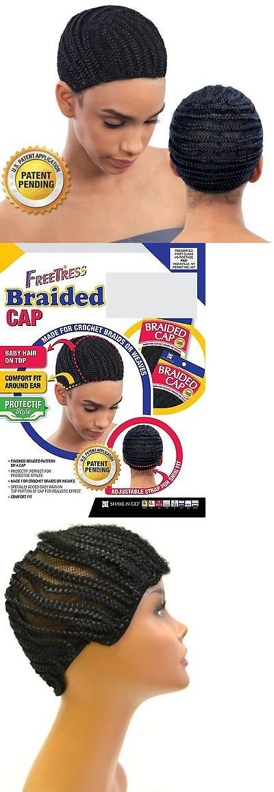 Wig and Extension Supplies: Shake N Go Freetress Protectif Style Braided Cap For Crochet Braids Or Weaves -> BUY IT NOW ONLY: $37.99 on eBay!