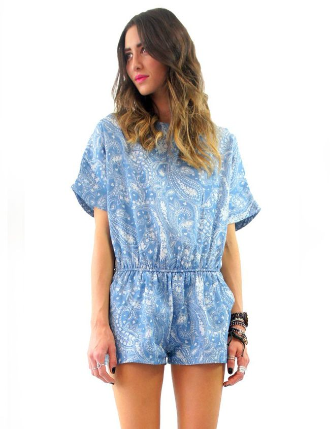 CHAMBRAY PLAYSUIT Lioness $65.00 NZD  http://www.fash.co.nz/afawcs0159551/CATID=1/ID=925/SID=665944032/Chambray-Playsuit.html