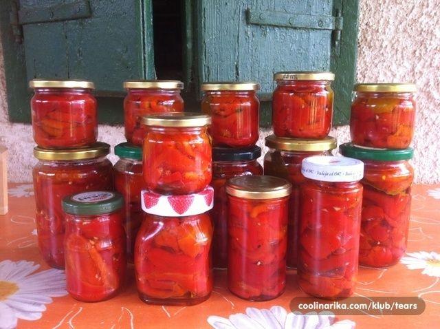 Salata od pečenih paprika - za zimu! — Coolinarika