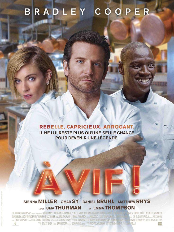 Vu À vif ! réalisé par John Wells avec Bradley Cooper et Omar Sy.