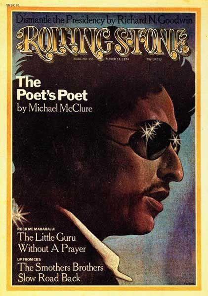 Bob Dylan, Rolling Stone Magazine, 1974