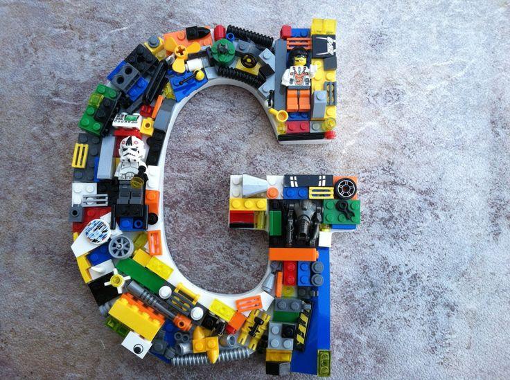 Custom  Lego letter via Etsy.