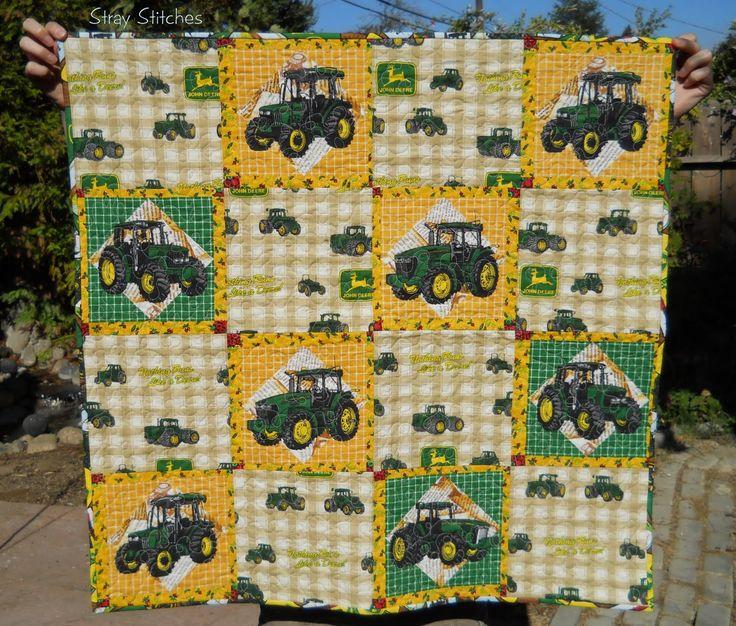 13 best john deere quilt images on Pinterest | Quilt designs ... : john deere quilts - Adamdwight.com