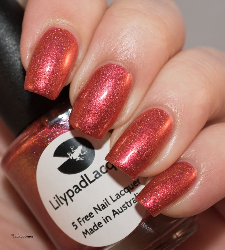 Lilypad Lacquer Fire Me Up
