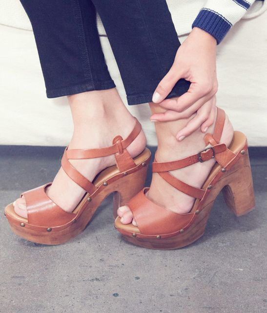 Chunky sandals for spring summer