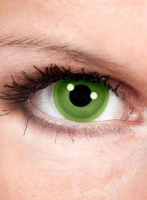 Grüne Kontaktlinsen - Motiv Green Goblin   #grün #green #StPatricksDay