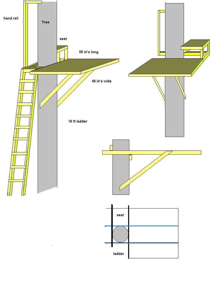 Tree House Plans Free | You can download any of these pictures by Right Clicking on them, and ...