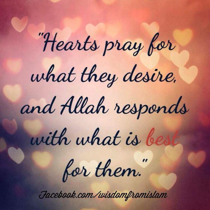 Subhaan Allah...trust in Him!