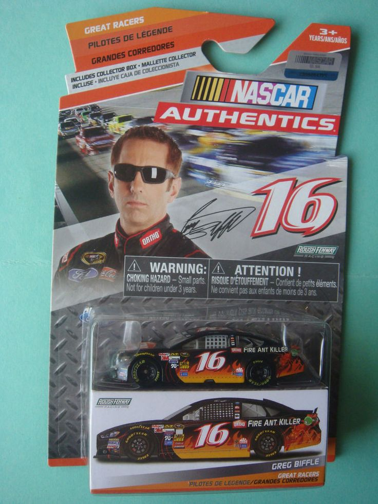 1/64 #16 GREG BIFFLE ORTHO SPRINT CUP SERIES FORD FUSION NASCAR AUTHENTICS