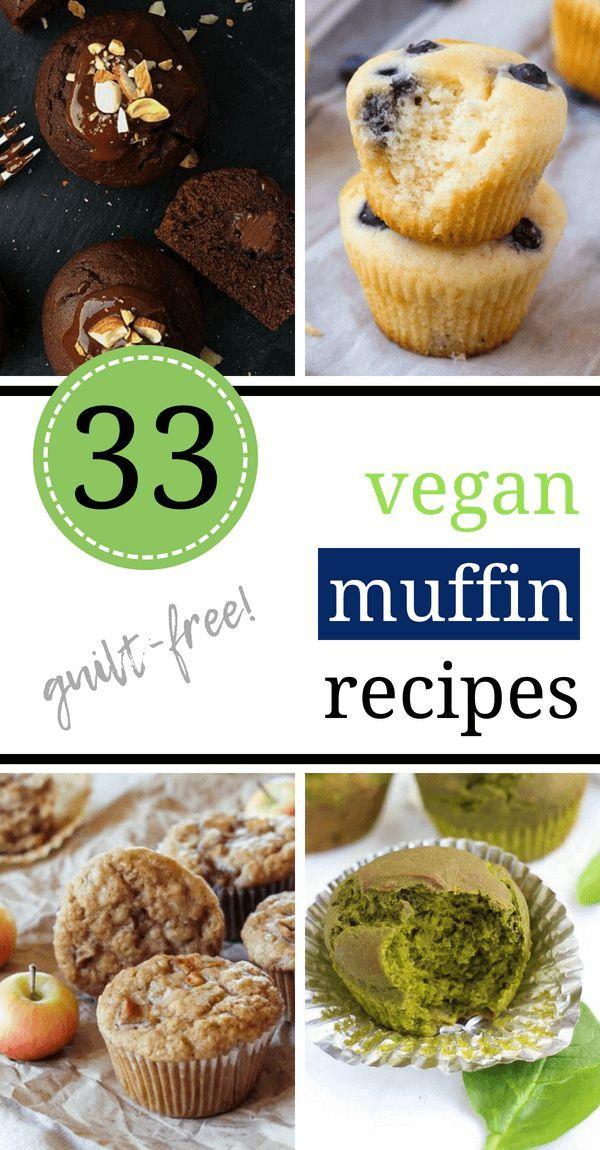 33 Heavenly Vegan Muffin Recipes Guilt Free Vegan